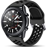Easuny Sport Band Compatible for Samsung Galaxy Watch 3 45mm/Galaxy Watch 46mm /Samsung Gear S3 Frontier, 22mm Quick Release