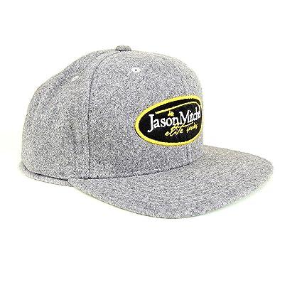 Buy Clam Corporation Clam Jason Mitchell Flat Bill Hat (ONE.Size ... 8b9bff03315