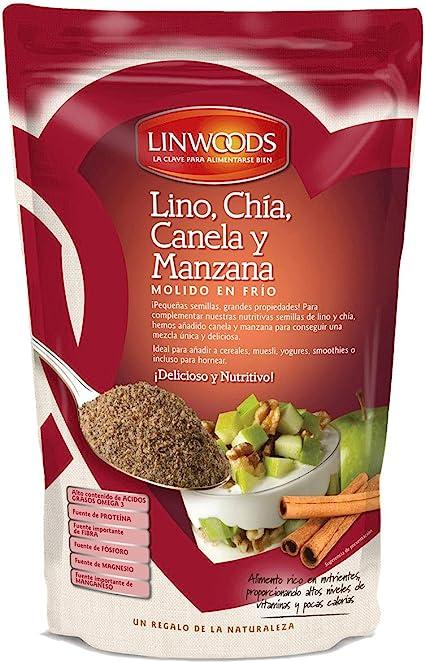 Amazon.com: Linwoods – Semillas de lino, chia, manzana y ...