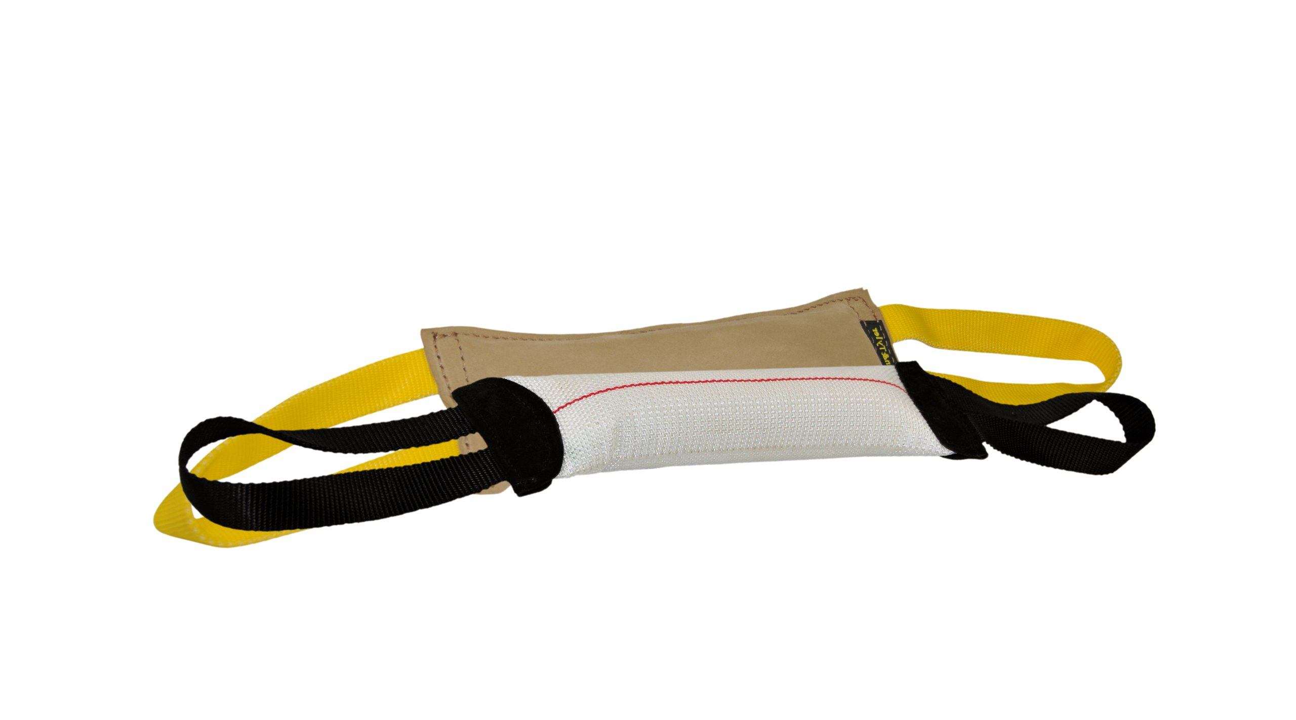 Dean & Tyler Bundle of 2 Tugs for Pets, Leather and Fire Hose, 12-Inch by 4-Inch