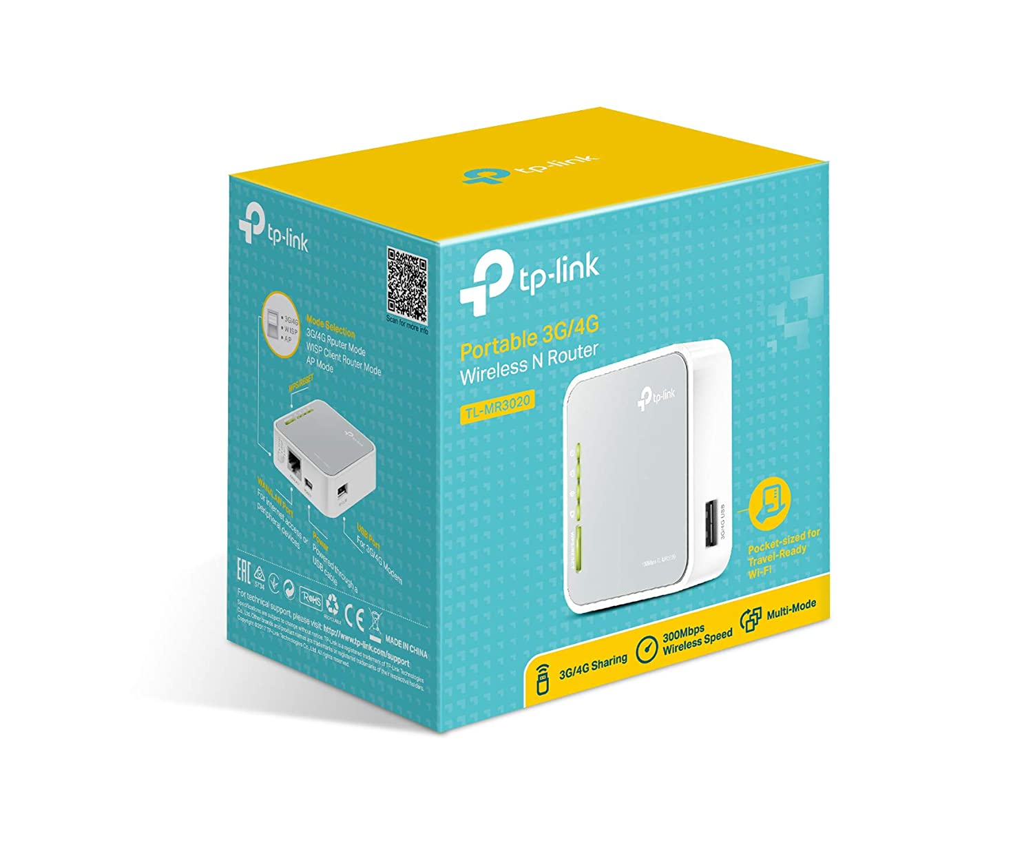 Amazon.com: TP-Link N150 Wireless 3G/4G Portable Router with Access ...
