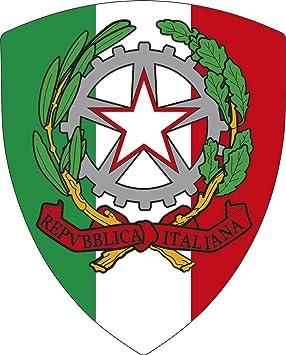 Aufkleber Wappen Italien Pico Mit Emblem