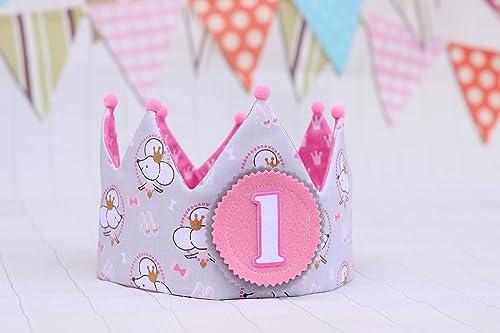 Corona cumpleaños niña decoración de fiesta infantil adorno ...