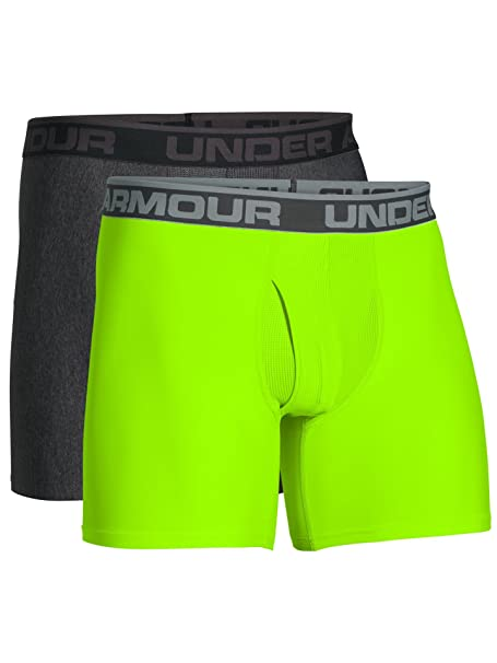 Under Armour Under Armour UA Original Series Boxerjock - paquete de 2, Carbon Heather /