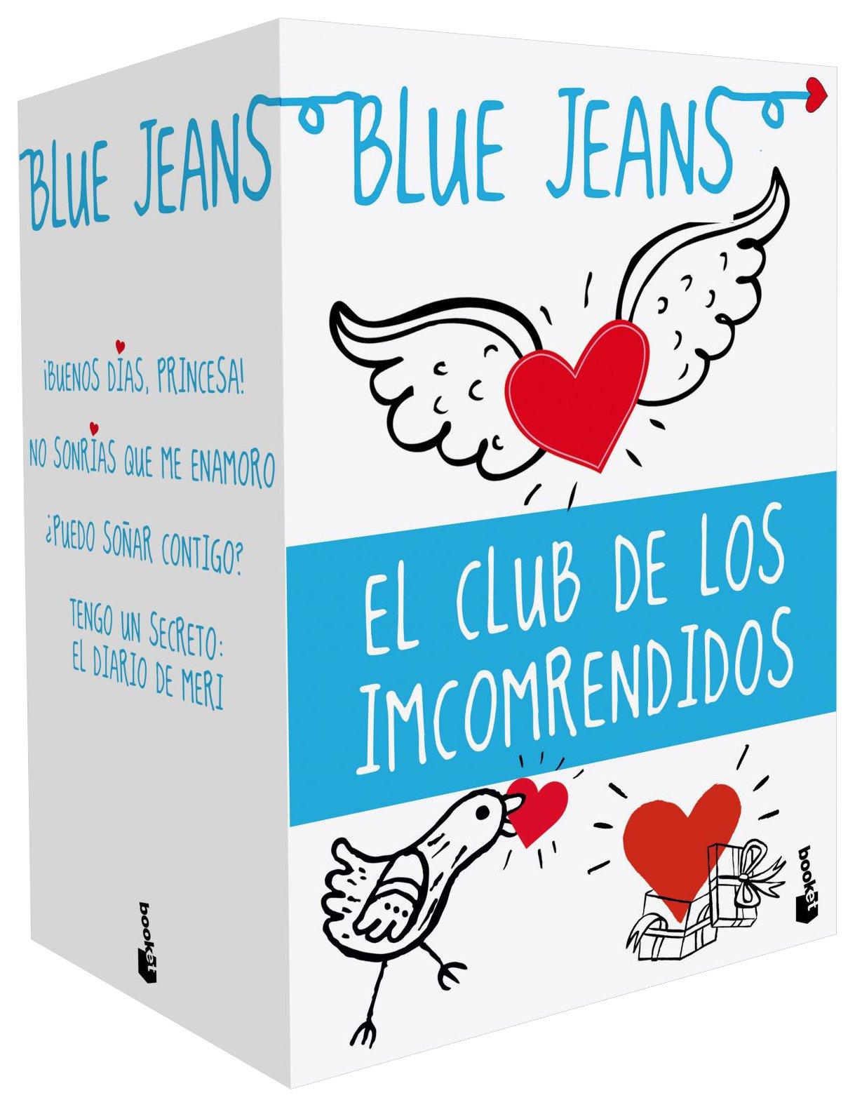 Pack el club de los incomprendidos bestseller amazon es blue jeans libros