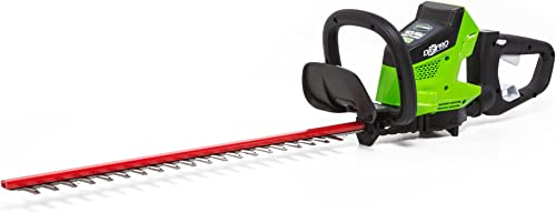 Greenworks 24-Inch 40V Brushless Cordless Hedge Trimmer, Battery Not Included HT40L00