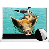 VIVIDSTORM-Projector Screens S PRO 120inch Electric Tension Floor Rising Screen,Motorized Portable self-Rising ALR Movie…