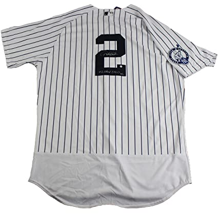 4688855b869 ... discount code for derek jeter signed new york yankees authentic may  14th retirement patch pinstripe jersey
