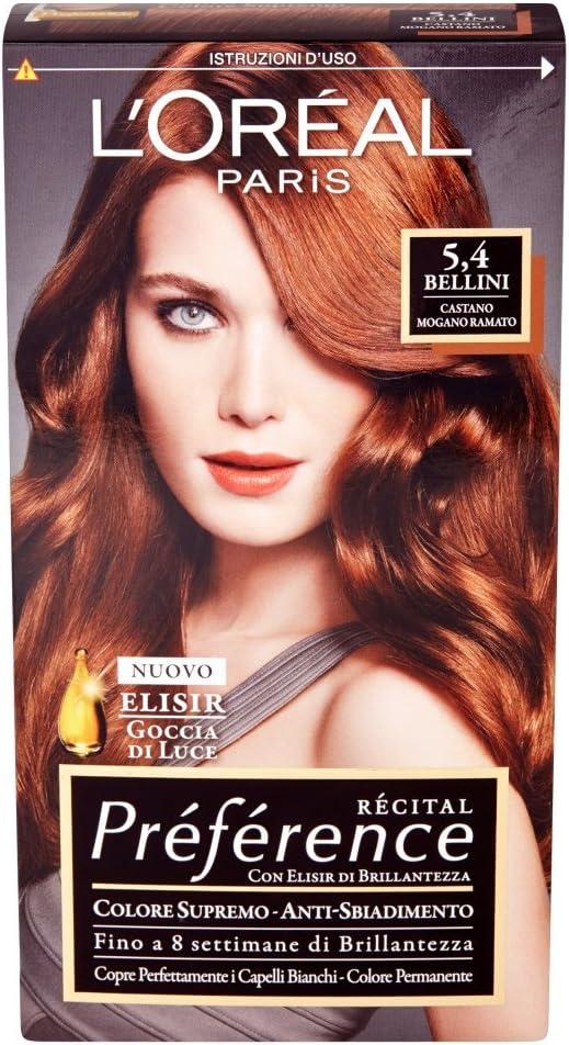 PREFERENCE 5,4 Castano MogaNo RAMATO Productos para el pelo ...