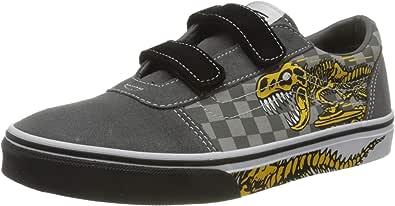 Vans Ward V-Velcro Suede, Sneaker Niños