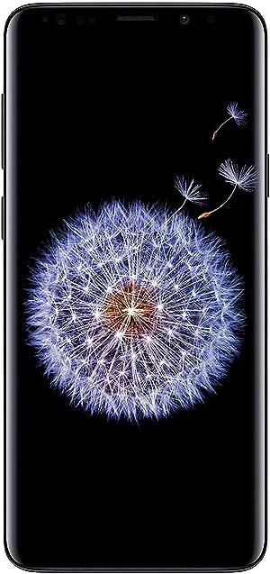 Samsung Galaxy S9+, 64GB, Midnight Black - For GSM (Renewed)