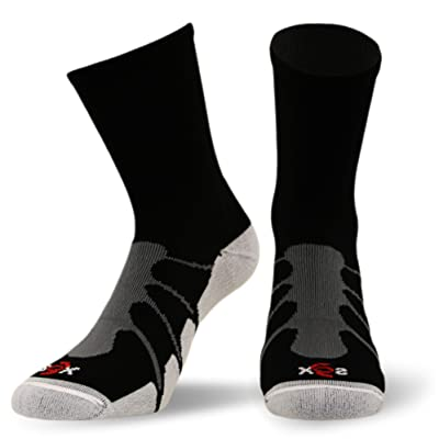 Sox Performance Sport Plantar Fasciitis Crew Arch Compression Socks, Pairs - SS3011
