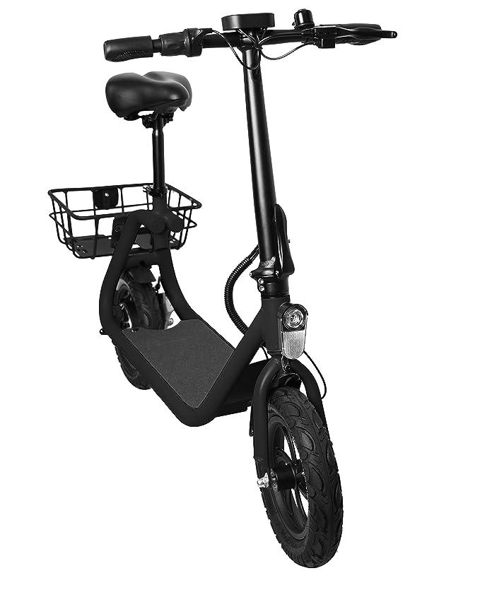 zugelassen: /Österreich Schweiz Produktvideo Elektrofahrrad Dr Ferrari GmbH E-Scooter Bike 20 km//h Leistungstarker Elektro Roller Elektroroller E-Roller 250 Watt