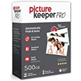 Picture Keeper PRO 500GB Portable Flash Drive Photo Music Video File Backup and Storage USB Device for PC and MAC…