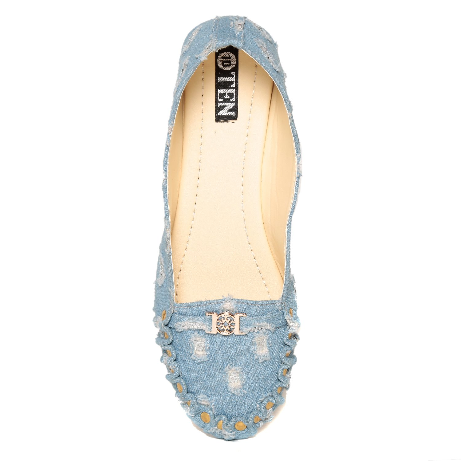 12574f4a1fd Ten Women s Blue Loafer-40  Buy Online at Low Prices in India - Amazon.in