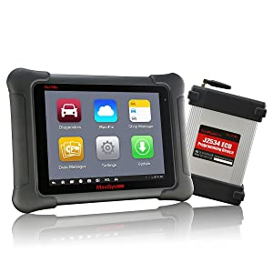 Autel Maxisys Elite Diagnostic Tool (Upgraded Version of MS908P Pro) with WiFi Bluetooth Full OBD2 Automotive Scanner with J2534 ECU Programming & 2 Years Free Update (Color: Autel Maxidas Elite, Tamaño: Autel Maxisys Elite)