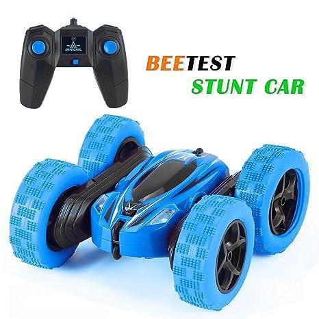 Beetest Coche de Control Remoto Infantil, 4WD Radiocontrol acrobático RC Auto 2.4GHz Escala Fast