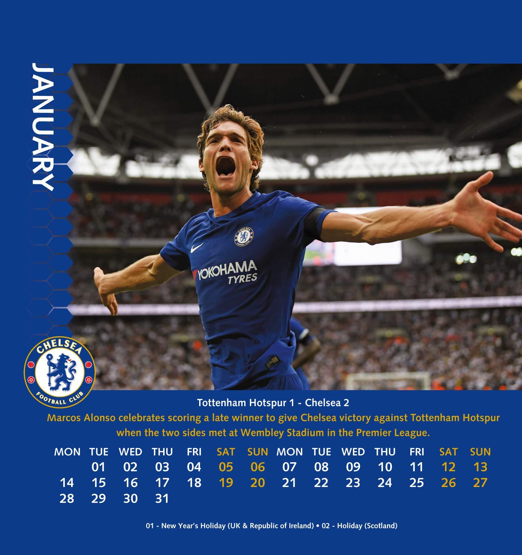 e0d67dc63408 Chelsea Desk Easel Official 2019 Calendar - Desk Easel Format:  Amazon.co.uk: Chelsea: Books
