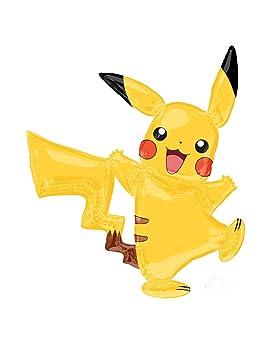 COOLMP - Lote de 6 Globos de Aluminio Pikachu Pokémon 132 x ...