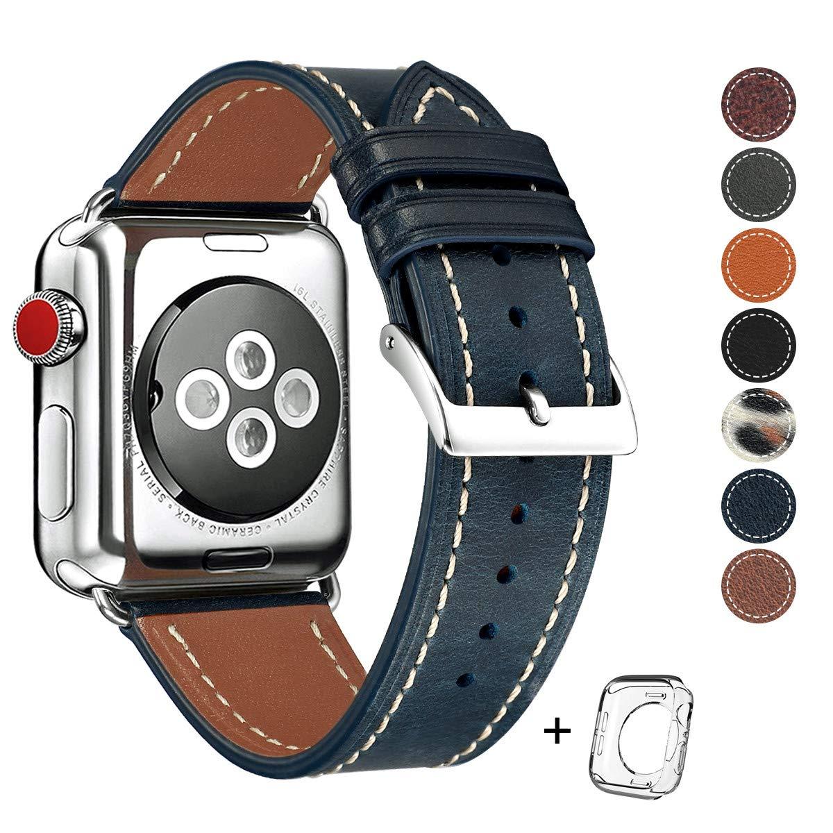 Malla Cuero para Apple Watch (42/44mm) HOT [7M8PNL41]