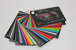 3M Wrap Film Series 2080 Swatch Sample Book