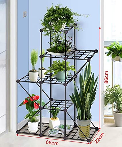 TYUIO Upgraded Heavy Duty Plant Stand Flower Pot Holder Garden