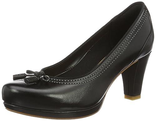 Chorus Bombay, Zapatos de Tacón para Mujer, Marrón (Light Tan Lea), 37.5 EU Clarks