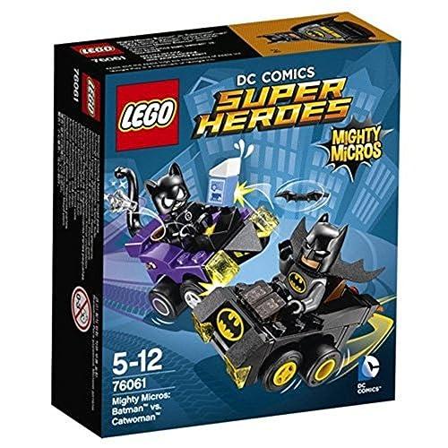 LEGO Super Heroes Mighty Micros: Batman vs Catwoman Building Set
