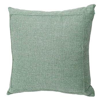 Amazon.com: Jepeak - Funda de cojín de lino de arpillera ...