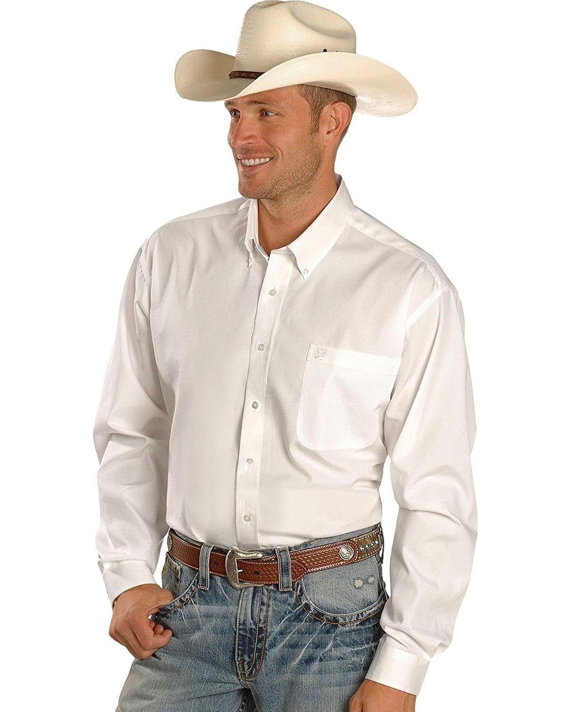 Cinch Mens Long Sleeve Solid