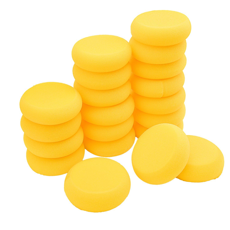 Sunmns 20 Pack Painting Sponge Artist Sponges Synthetic Watercolor Sponges, 3 Inch SunmnsDirect 4336955211