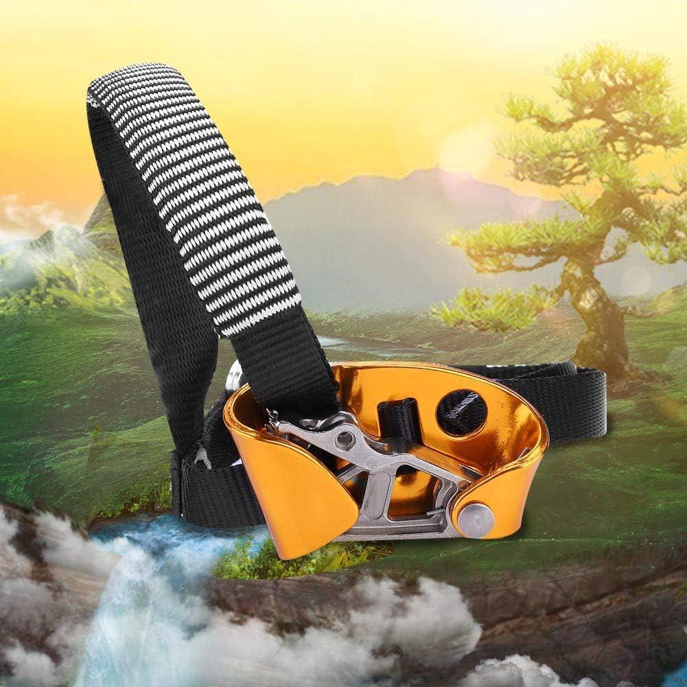 Wallfire Pedale Ascender Multifunzionale Destro//Sinistra per Arrampicata Roccia Attrezzatura Alpinismo