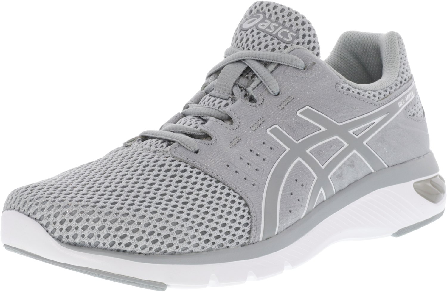 ASICS Women's Gel-Moya Ankle-High Running Shoe B077CC8HJ8 10 B(M) US|Grey/Silver