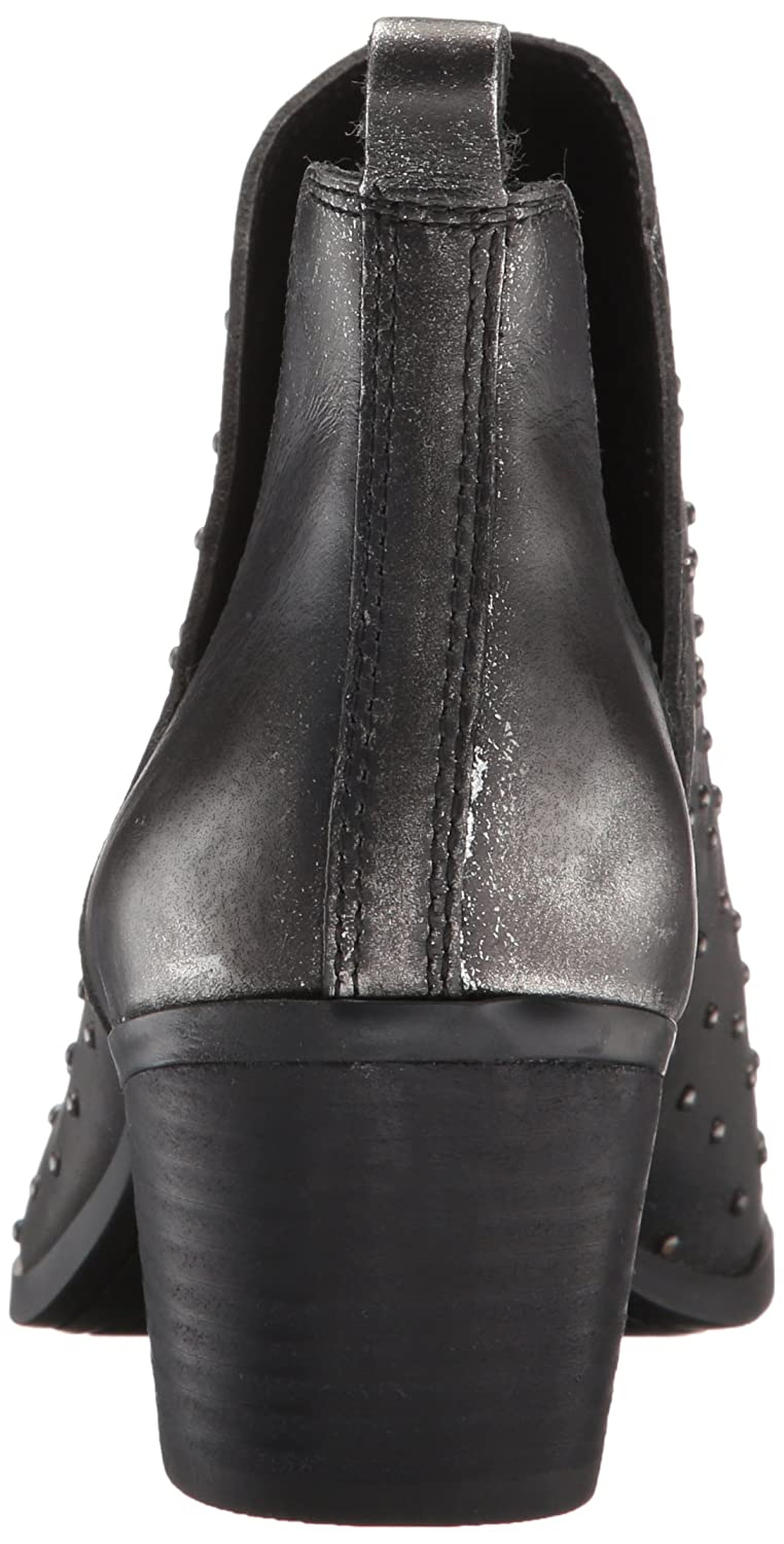 Lucky Brand Womens Barlenna Suede Ankle-High Leather Pump
