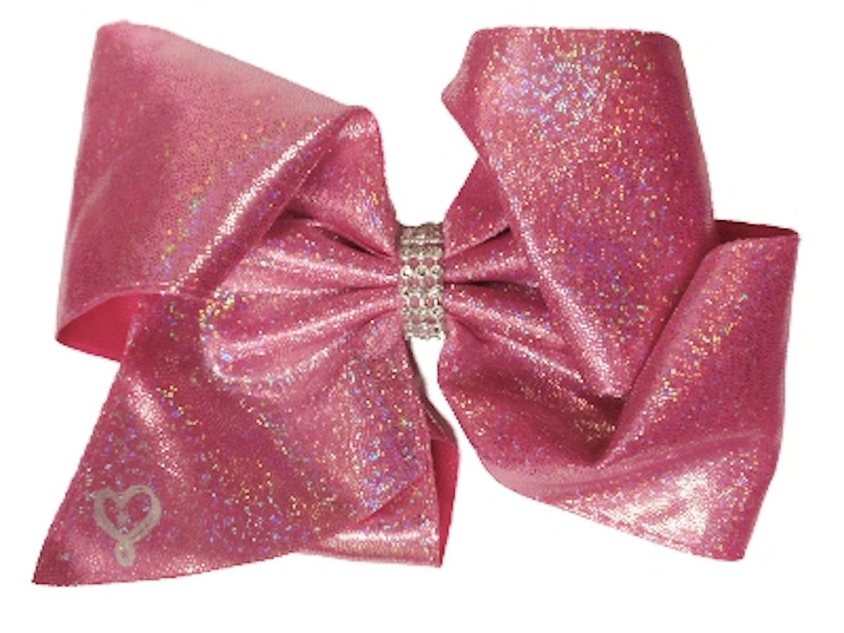 Jojo Siwa 11468218 Pink Glitter Hair Bow Pony Kids Accessory