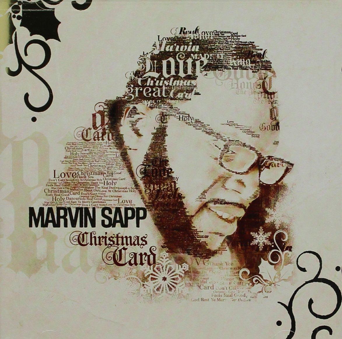 CD : Marvin Sapp - Christmas Card (CD)