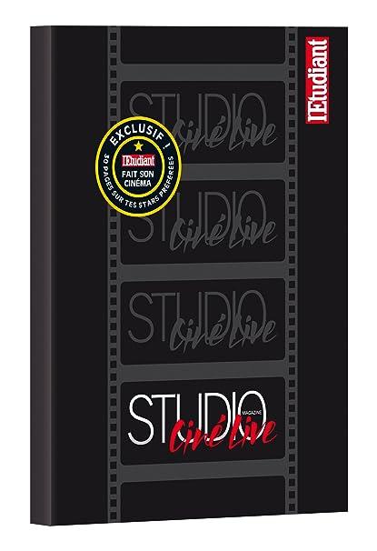 LEtudiant Studio ciné live - Agenda escolar (15 x 20 cm ...