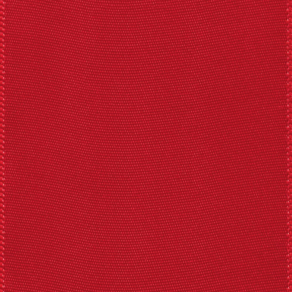 Offray Berwick 2.25'' Single Face Satin Ribbon, Red, 10 Yds by Offray (Image #2)