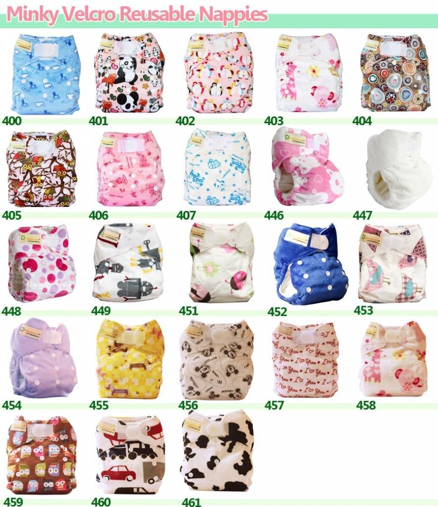 For Boy//Girl//Unisex Dudeybaba Reusable Pocket Nappies Suitable Random Choice Unisex