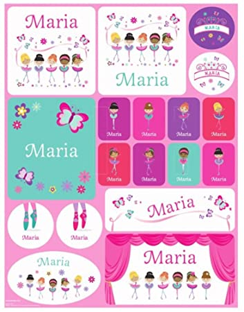 83ebe1fc2a97 Personalized Custom Name Stickers Name Label Name Decal Back to School Name  Labels