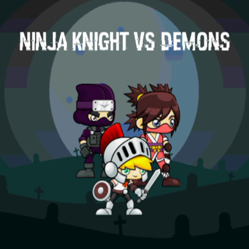 Ninja Knight VS Demons : Sword Fighting Platform Mania (Zombie Cartoon Characters)