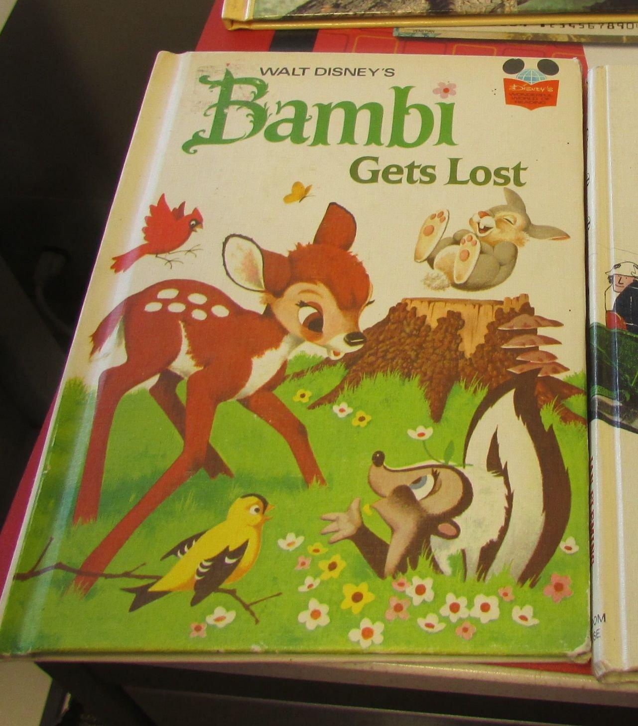 Bambi Gets Lost Disney Book Club 9780394825205 Amazon Com Books