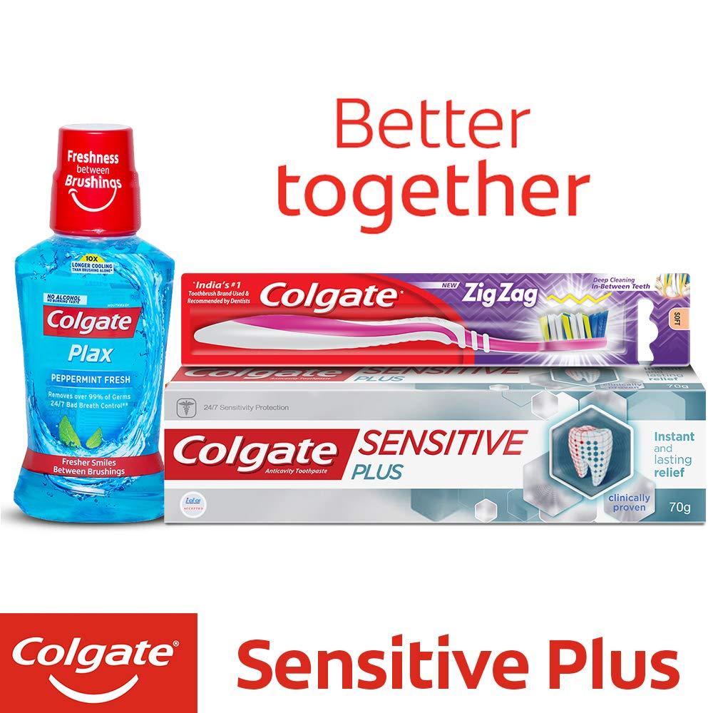 14fe873d7 Colgate Sensitive Plus Toothpaste - 70 g  Amazon.in  Cloudtail India