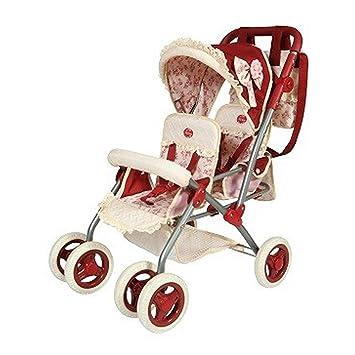 Decuevas Toys - Muñeca Martina, Silla para Gemelos Plegable, con Bolso, 40x70x72 cm: Amazon.es: Juguetes y juegos