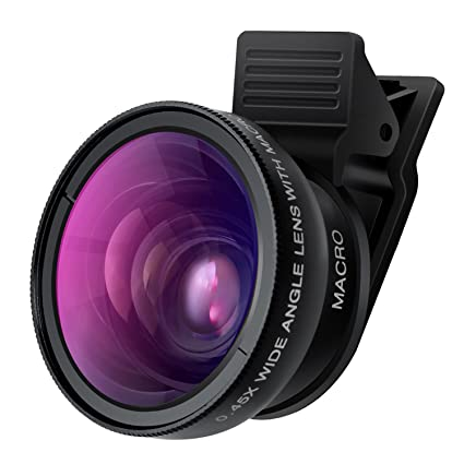 Amazon.com: Cell Phone Camera Lens - TURATA 2 in 1 Professional HD ...