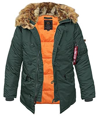new style d0d82 ea59f Alpha Industries N3B VF 59 Fliegerparka Mantel