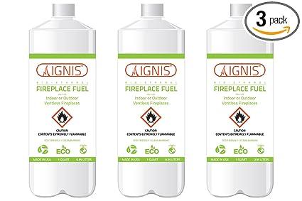 Amazon.com: Ignis Combustible para chimenea de bioetanol ...