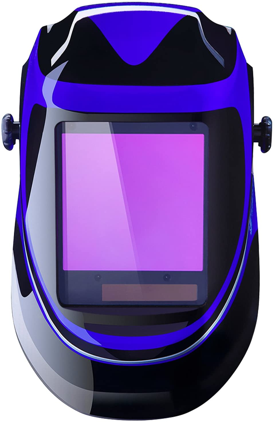 The most lightweight helmet: Solar Power Welding Helmet