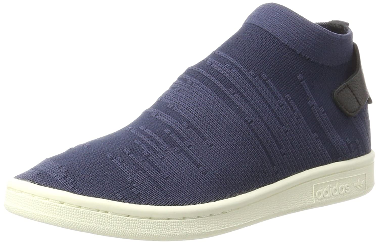 adidas Damen Stan Smith Sock Primeknit Sneaker  39 1/3 EU|Blau (Trace Blue/Trace Blue/Trace Blue)