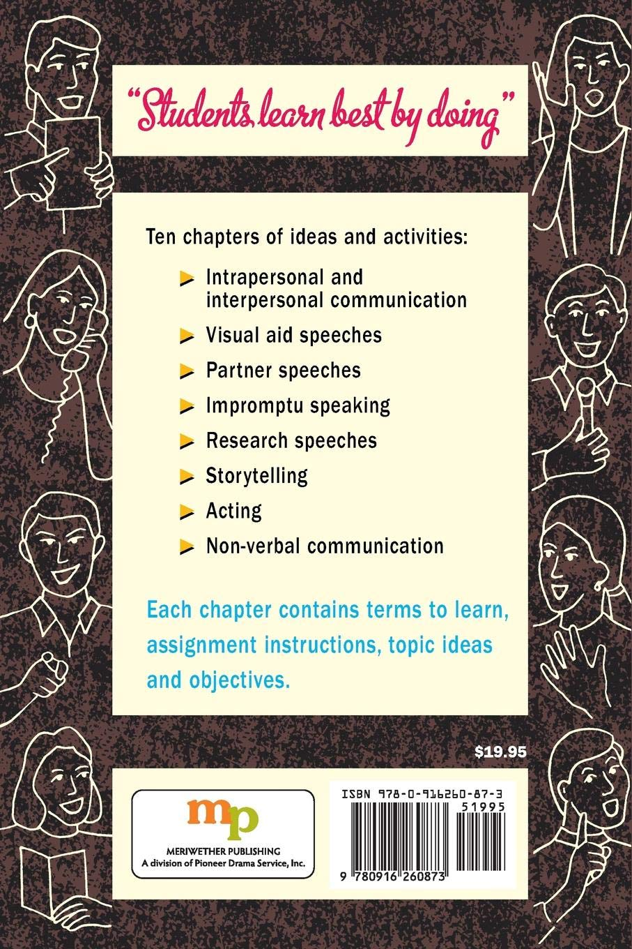 The Complete Book Of Speech Communication A Workbook Of Ideas And